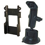 NPI RAM Radio Belt Clip Bar Locking Suction Mount