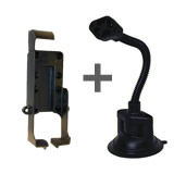 NPI RAM Garmin GPS 48 Gooseneck Suction Mount RAP-105-6224-GA3U
