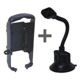 NPI RAM Garmin GPSMAP 76S Gooseneck Suction Mount RAP-105-6224-GA6U