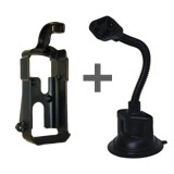 NPI RAM Magellan GPS 3xx Series on Flex Suction Mount
