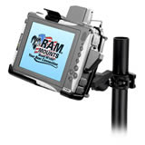 RAM Mount Itronix Duo Touch Tablet Round Pole Clamp Mount