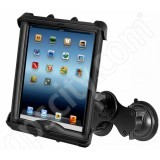RAM Mount Apple iPad LifeProof Lifedge Case Double Suction Cup Mount Tab-Tite 17