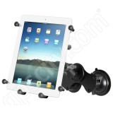 RAM Mount Large Tablet X-Grip III Long Arm Double Suction Mount RAM-B-189-C-UN9U