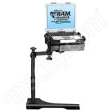 RAM Mount Dodge Jeep Dual Arm Laptop Vehicle Mount 2011 RAM-VB-186-SW1