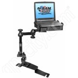 RAM Mount Ford Police Interceptor Sedan Dual Arm Laptop Vehicle Mount RAM-VB-190-SW1