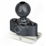 RAM Mount Plastic Track Rail Adapter C-Ball RAP-383U