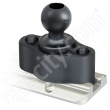 RAM Mount Plastic Track Rail Adapter B-Ball RAP-B-383U
