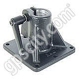 RAM Mount Floor Mini Pedestal Base with 1 inch Pipe