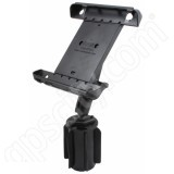 RAM Mount Tab-Tite-3 Apple iPad Long Arm Vehicle Cup Holder B-Ball Mount