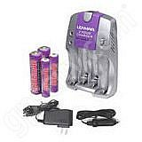 Lenmar 4 Slot AC-DC 2 Hour Charger