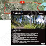 Garmin TOPO US 24K North Central DVD