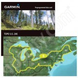Garmin TOPO US K Northeast DVD - Garmin topo us 24k northeast dvd maps
