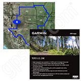 Garmin TOPO US 24K South Central DVD