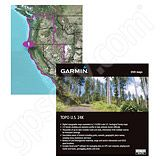 Garmin TOPO US 24K West DVD