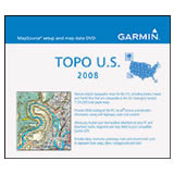 Garmin Topographic 2008 100K USA DVD