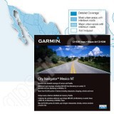 Garmin City Navigator Mexico NT CD 2010