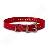 Garmin .75 inch Red Collar Strap