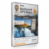 Backroad GPS Maps DVD for Alberta