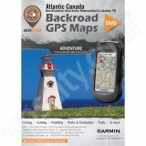 Backroad GPS Maps DVD for Atlantic Canada