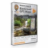 Backroad GPS Maps DVD for Vancouver Island BC