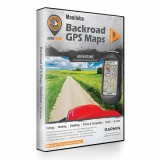 Backroad GPS Maps DVD for Manitoba