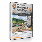 Backroad GPS Maps DVD for New Brunswick