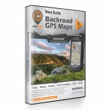 Backroad GPS Maps DVD for Nova Scotia