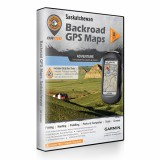 Backroad GPS Maps DVD for Saskatchewan