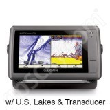 Garmin echoMAP 70s with Preloaded U.S. Lakes and Transducer