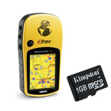 Garmin eTrex Venture Cx GPS with Kingston 1GB microSD Card