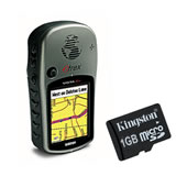 Garmin eTrex Vista Cx GPS with Kingston 1GB Memory Card