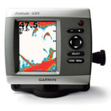 Garmin Fishfinder 400C with Dual Beam Transducer