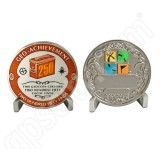 Geocaching Official 250 Finds Geocoin Achievement Award Set