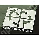 Geocaching Logo Outside Decal White