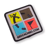 Geocaching Geo Patch Color