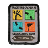 Geocaching Logo Trackable Patch