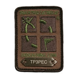Geocaching Camo Logo Trackable Patch