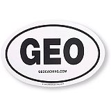 Geocaching GEO Sticker