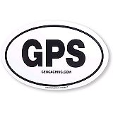 Geocaching GPS Sticker