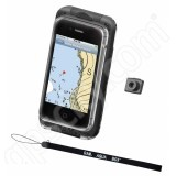 RAM Mount Small Aqua Box Pro 10 iPhone Mobile Phone Cradle with Lanyard and Button