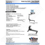 RAM Mount RAM-VB-159 Mount Instruction Sheet RMR-INS-VB-159