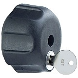 RAM Mount Locking Knob Steel Thread for 1 inch Socket Arm