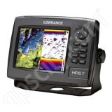Lowrance HDS-7 Gen2 USA Insight Fishfinder and GPS Chartplotter without Transducer