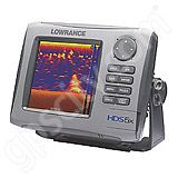 Lowrance HDS-5x Multifunction Echosounder without Transducer