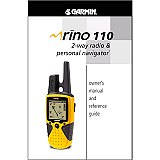 Garmin Rino 110 Manual English