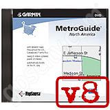 Garmin MetroGuide North America DVD v8