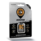 Backroad GPS Maps British Columbia microSD with SD Adapter