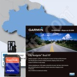 Garmin microSD City Navigator Brazil NT 2013 Card with SD Adapter