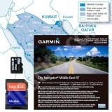 Garmin microSD City Navigator Middle East 2010 NT with Adapter