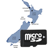 Garmin microSD City Navigator NT New Zealand Card